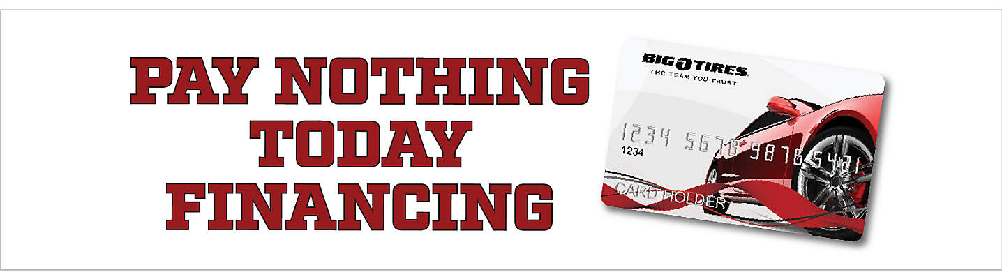 Pay Nothing Today Financing