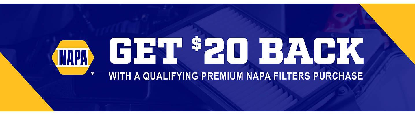 NAPA $20 Mail-in Rebate
