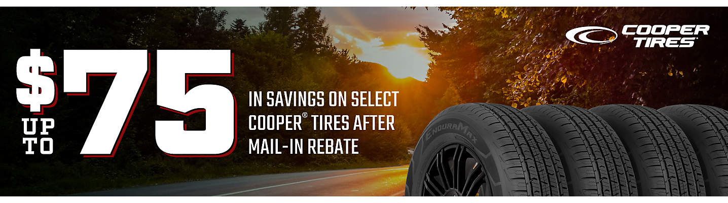 Cooper up to $75 Mail-in Rebate