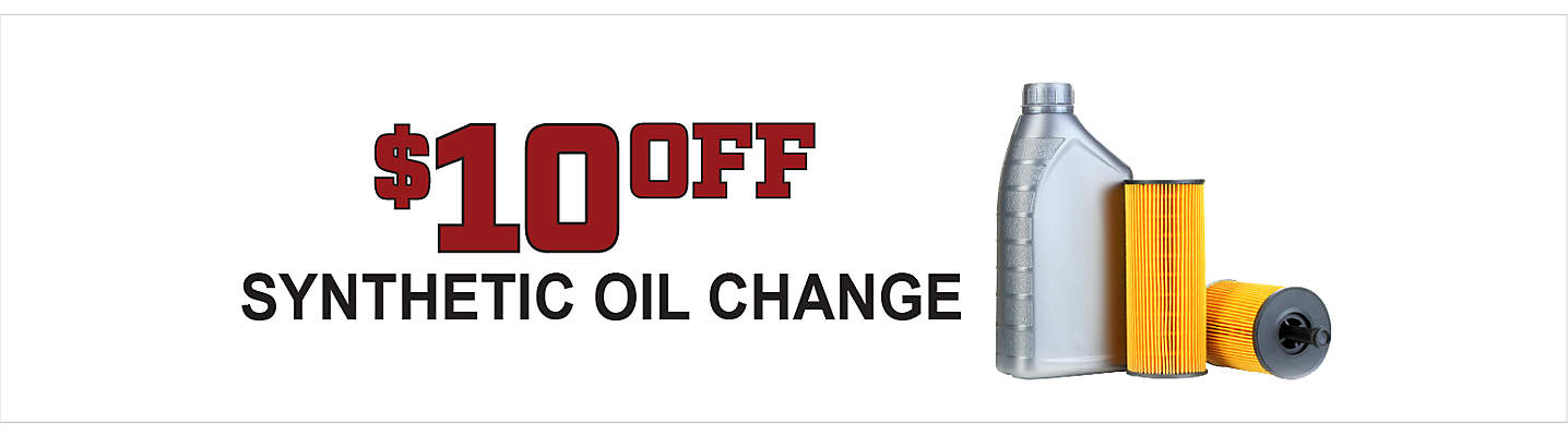$10 Off Synthetic Oil Change and Tire Rotation