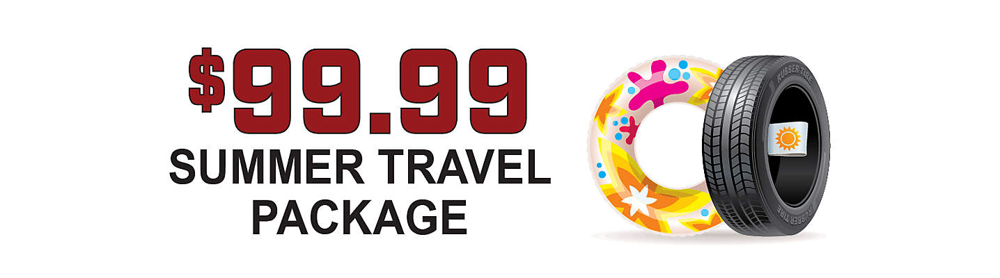 Summer Travel Package - Only $99