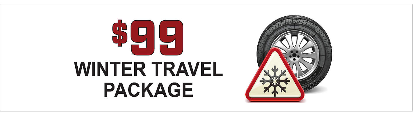 Winter Travel Package - Only $99