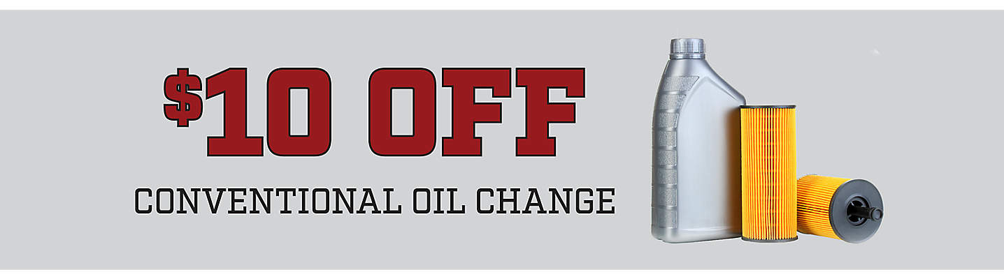 $10 Off Conventional Oil Change