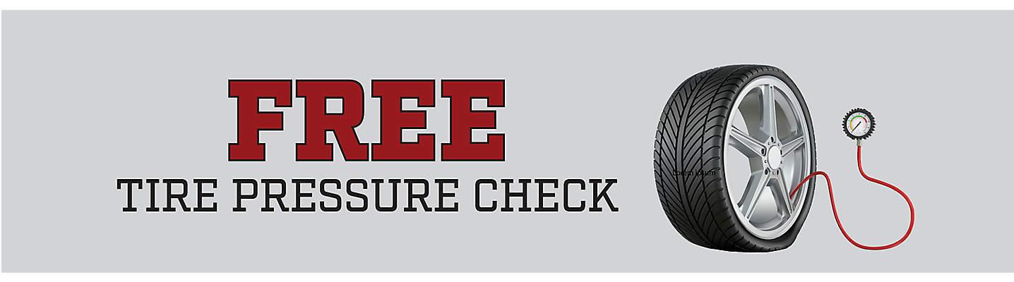 Free Tire Pressure Check