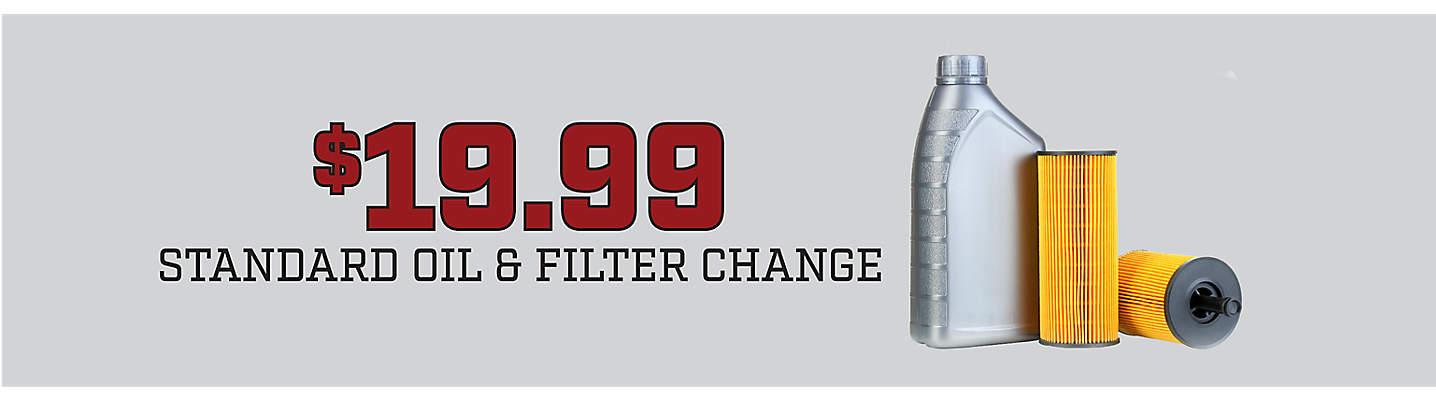 19 99 Oil Change >> 19 99 Standard Oil Filter Change Big O Tires