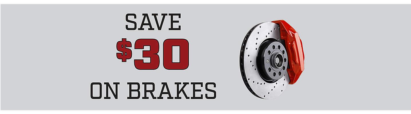 $30 Off Per Brake Axle