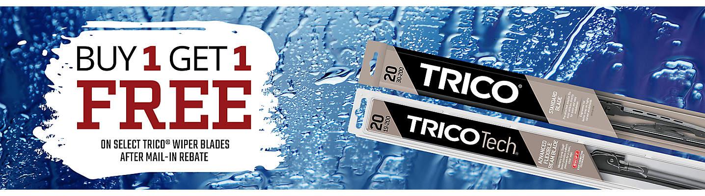Buy 1 Get 1 Free Trico Wiper Blades