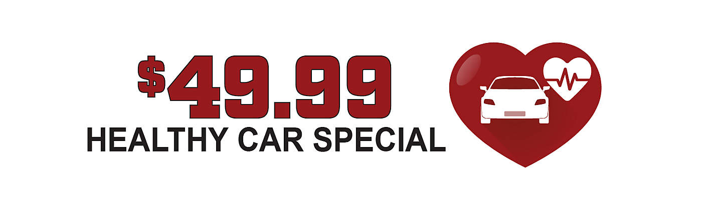 Healthy Car Special – only $49.99