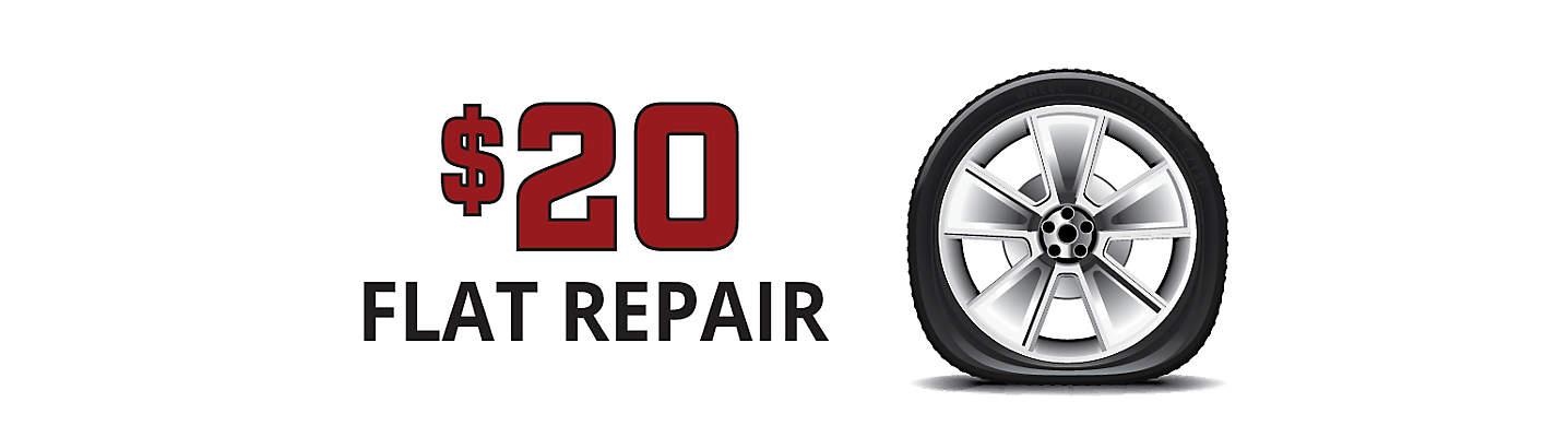 $20 Flat Repair