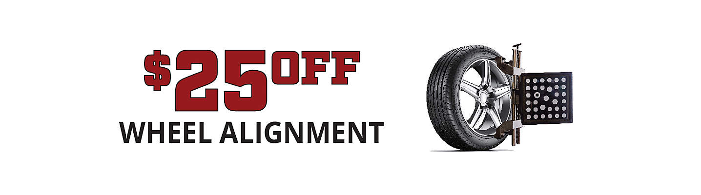$25 Off Single Alignment