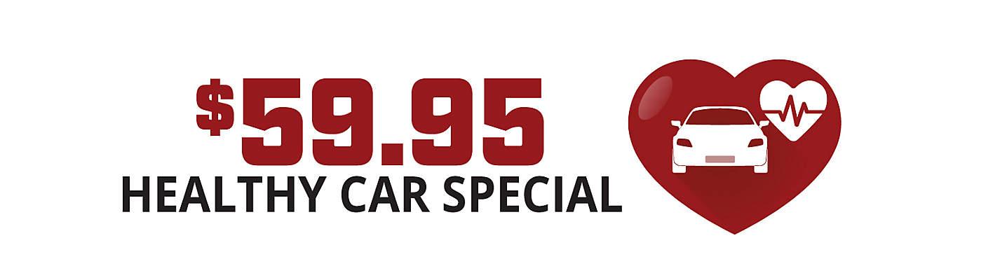 $59.95 Healthy Car Special