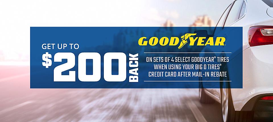 Goodyear $200 Mail In Rebate