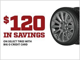 Tire Sales Near Me >> Tire Coupons Specials Big O Tires