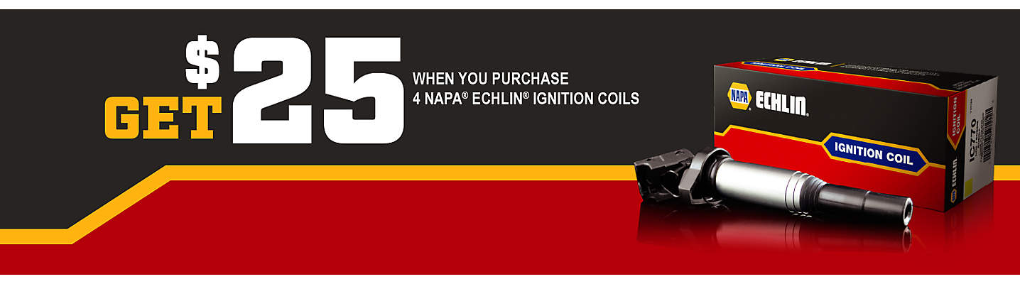 NAPA Echlin Ignition Coil $25 mail-in rebate