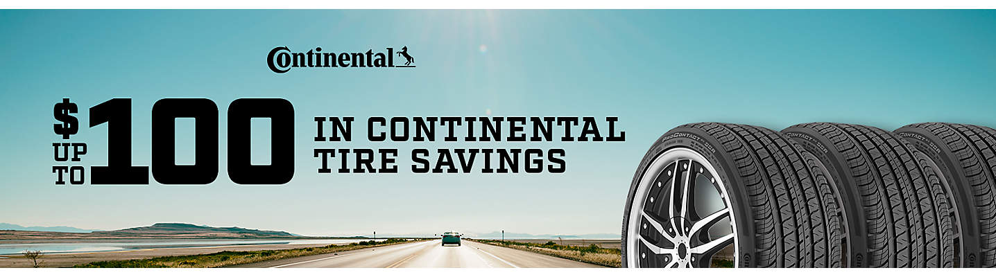 Continental up to $100 Mail-in Rebate
