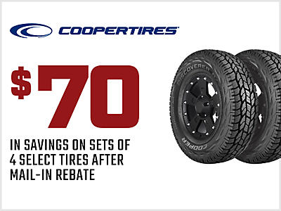 Tire Coupons & Specials | Big O Tires