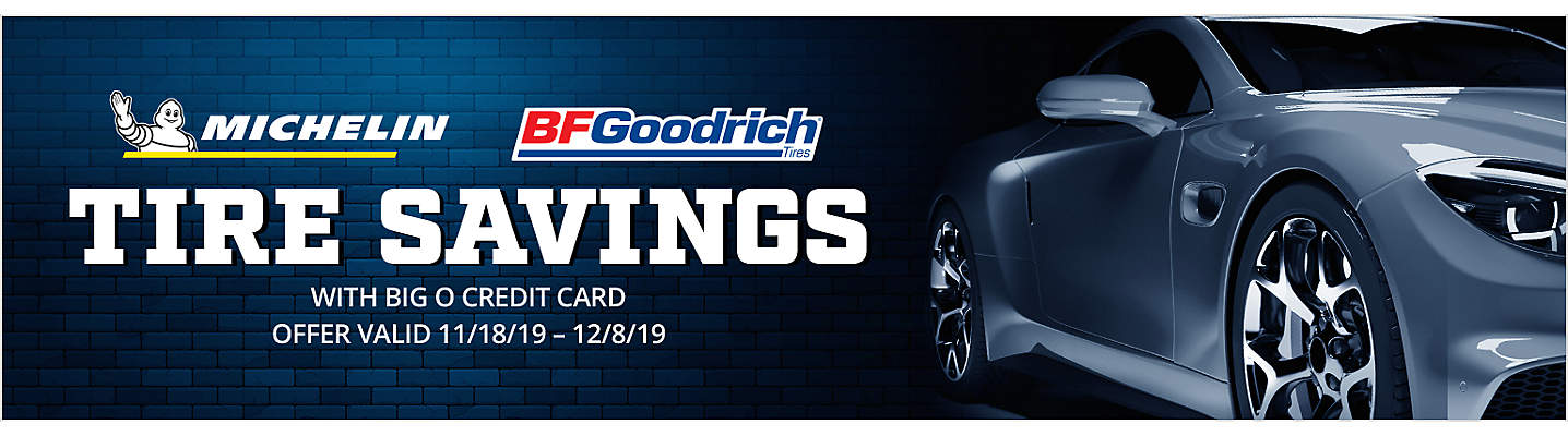MICHELIN® & BFGOODRICH® Rebate Tire Savings