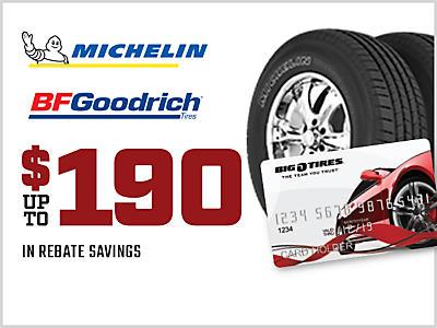 Tire Coupons Specials Big O Tires