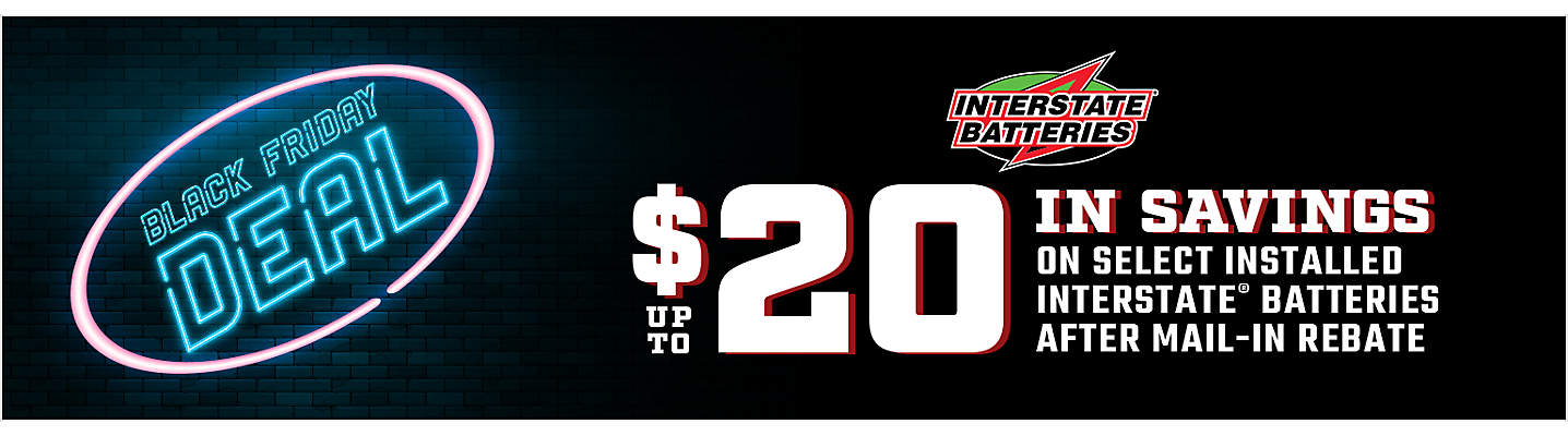 Interstate Battery Mail-in Rebate