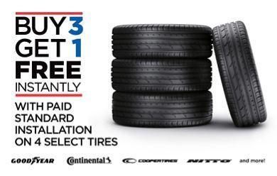 Buy 3 Get 1 Free Tires >> Tire Kingdom Tires Routine Auto Maintenance
