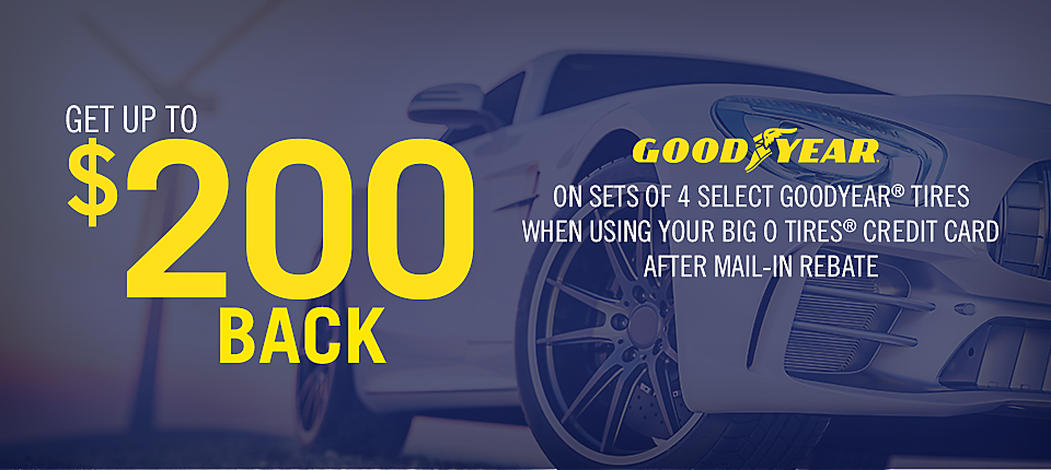Goodyear $200 Mail In Rebate