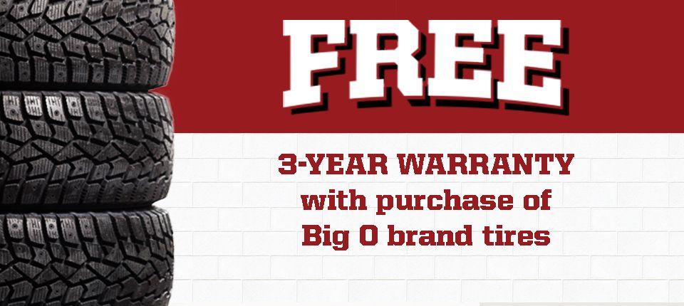 Shop Big O Warranty