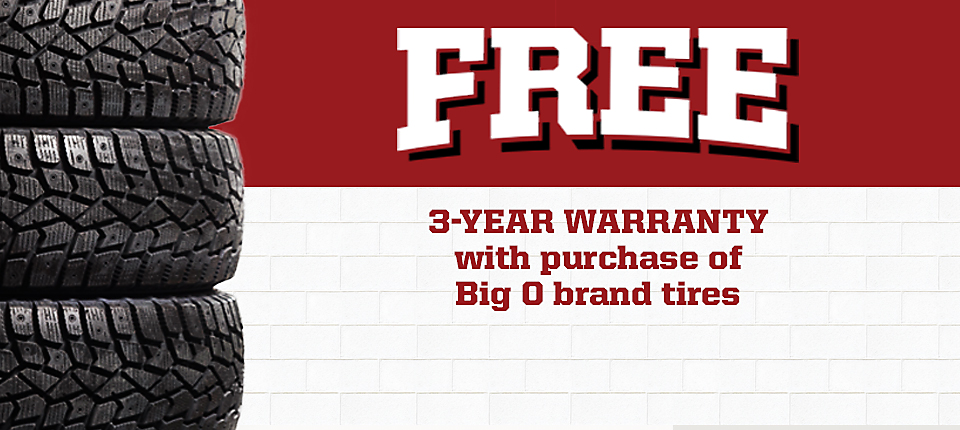 Big O Tires Warranty