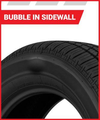 Bubble in Tire Sidewall | Tire America