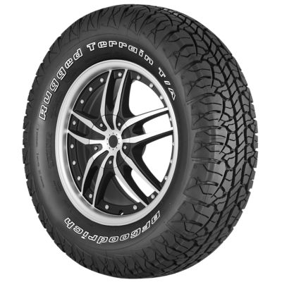 Rugged Terrain T/A Image. View Gallery 360 View. BFGoodrich Logo